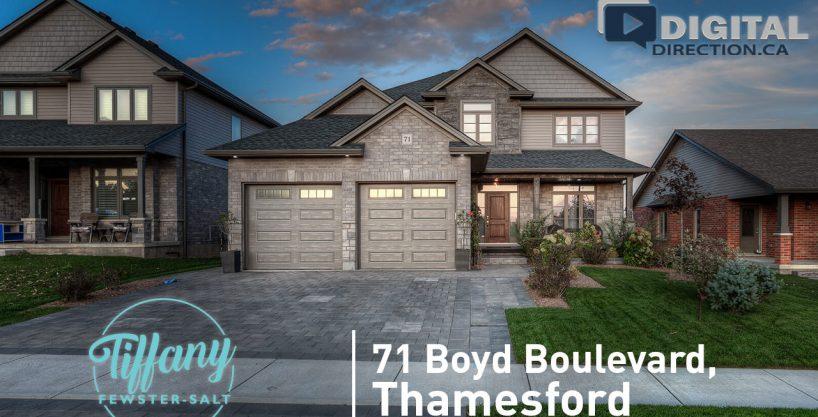 71 Boyd Boulevard, Thamesford, ON